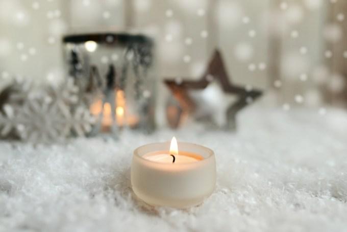 Advent Sunday Candle