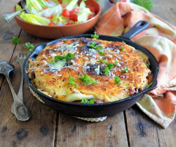 Easy Enchilada Pie