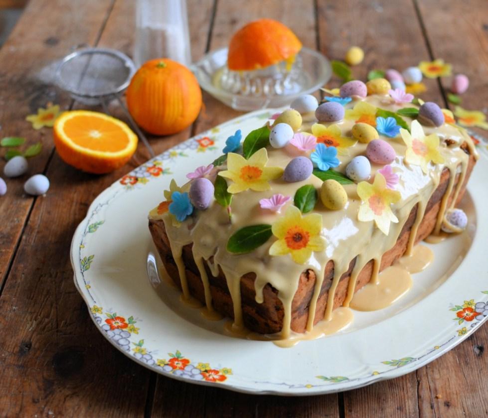 Easy Simnel Cake