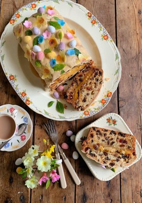 Simnel Cake Loaf
