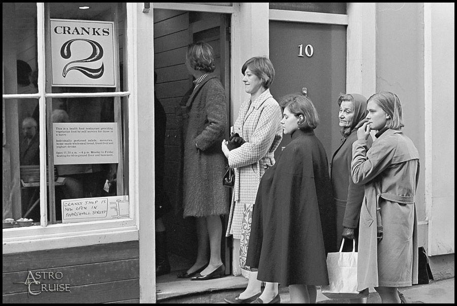 Cranks Carnaby Street LOndon 1961