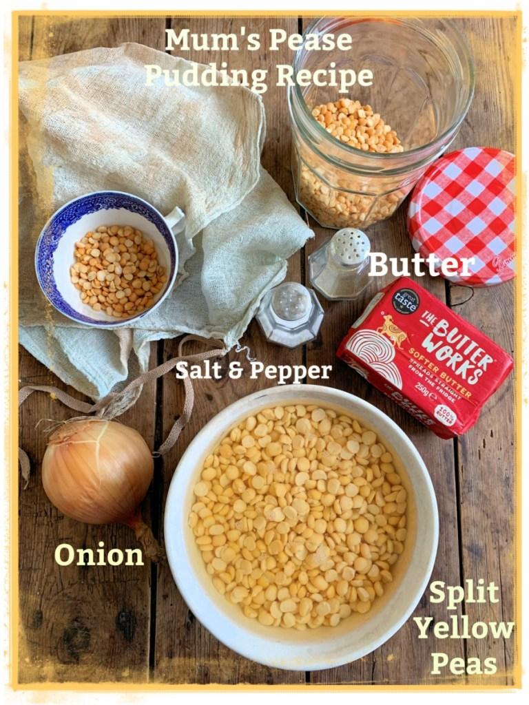 Mum's Pease Pudding Recipe