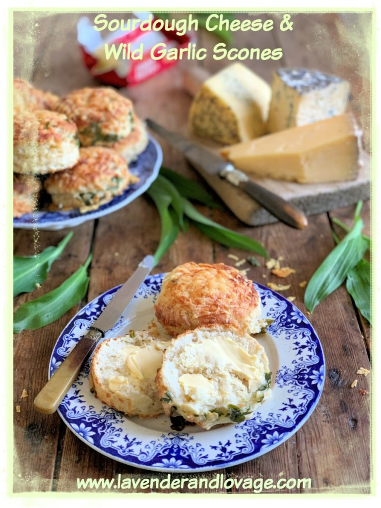 Sourdough Cheese & Wild Garlic Scones