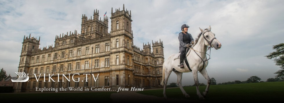 At Home at Highclere Castle Fridays on Viking.TV