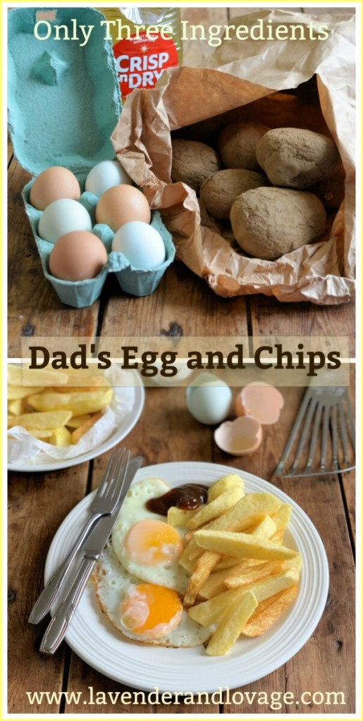 Dad's Egg and Chips