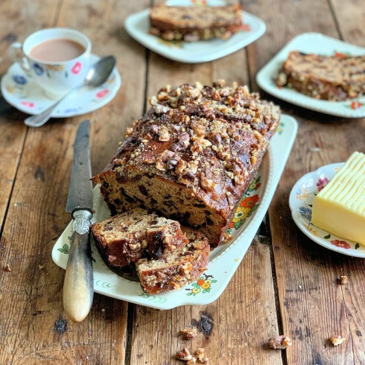 Overnight Country Fruit Bread