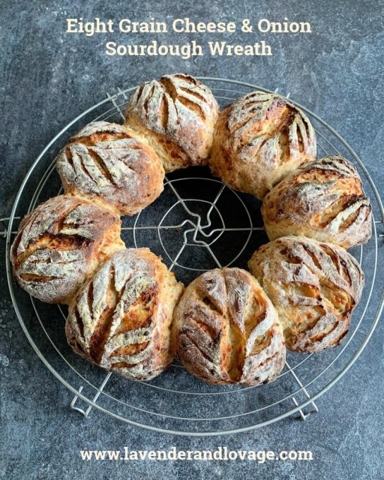 Eight Grain Cheese & Onion Sourdough Wreath