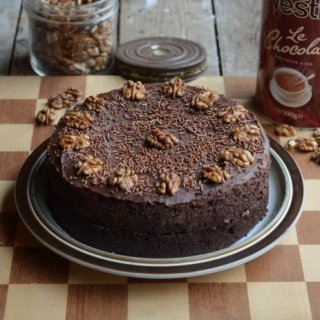 The Famous Drinking Chocolate Cake;