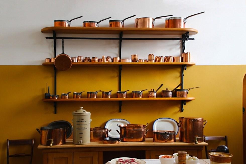 VIntage Copper Saucepans