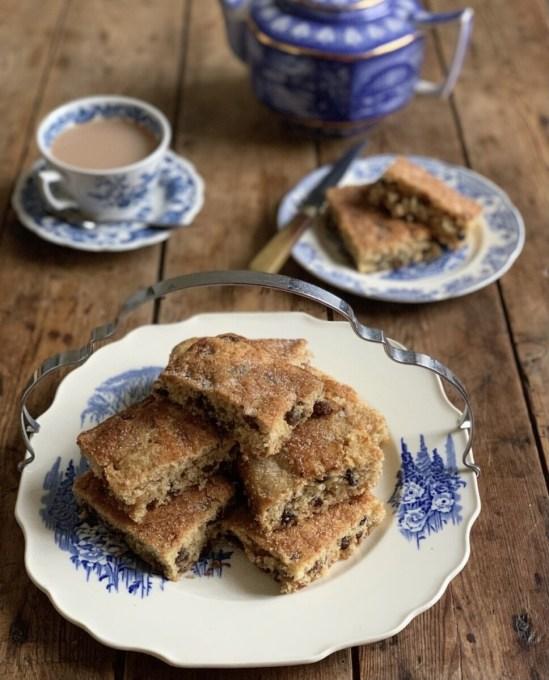 Old-Fashioned Tea Cake Squares