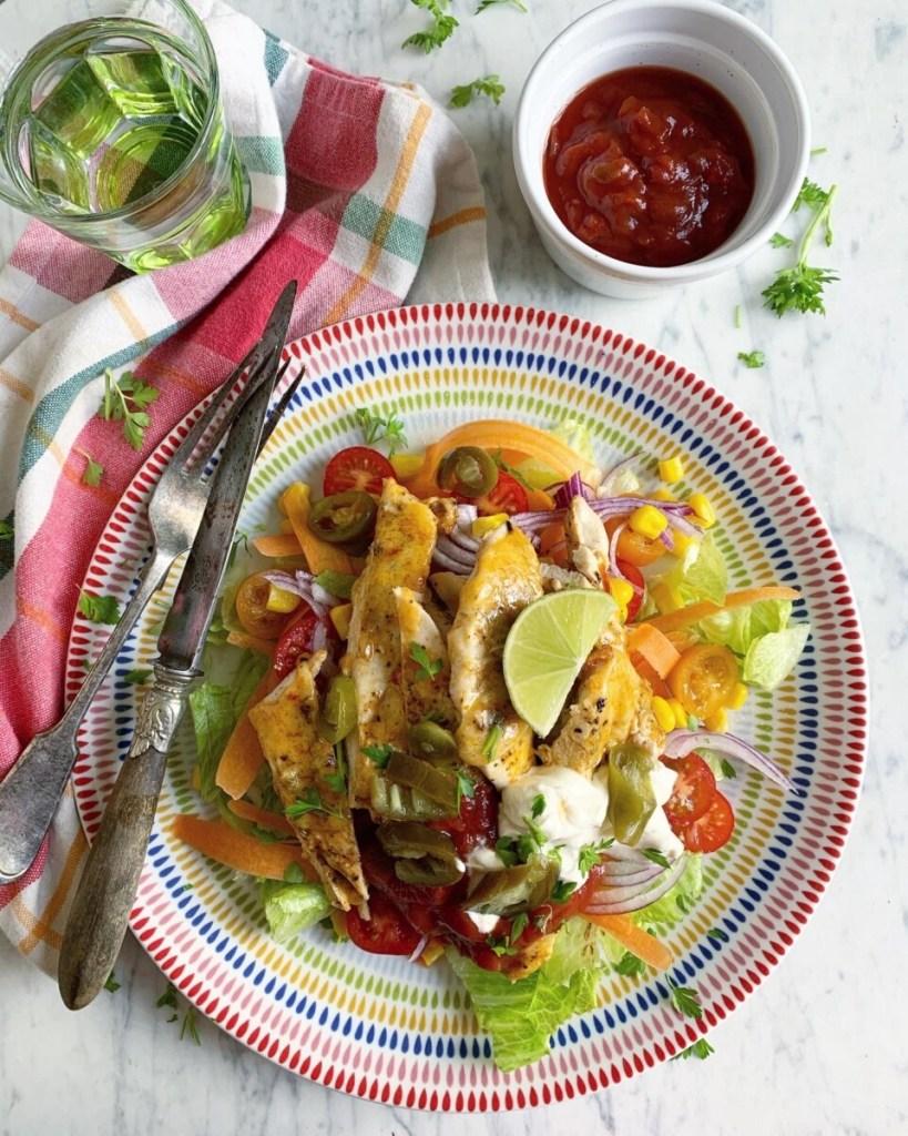 Healthy Cajun Chicken Salad