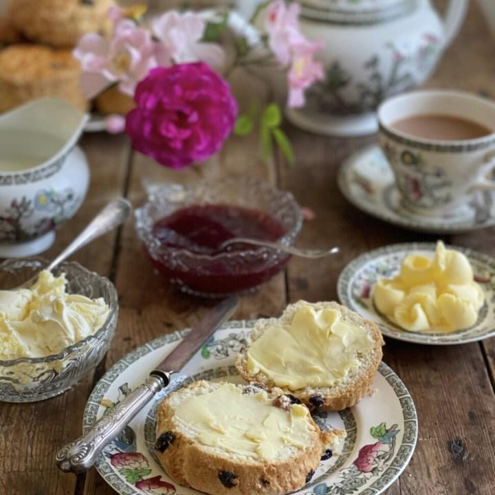 Traditional English Tea Time Scones