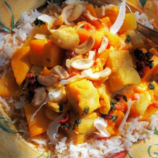 Fish on Friday and South Sea Islands Fish & Sweet Potato Stew with Scottish Hake