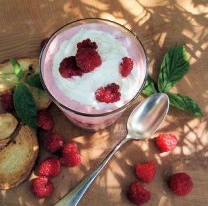18th Century Raspberry Cream