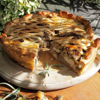 Organic September & Seasonal Family Recipes – Chicken Pie, Strawberry French Toast & Soup with Cheese Toasties