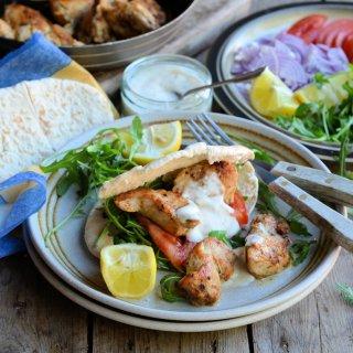5:2 Diet 215 Calorie Kebabs! Cajun Chicken Kebab and Spiced Yoghurt Dip Recipe