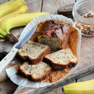An Old Vintage Hovis Bread Tin and Nigel Slater's Black Banana Cake Recipe