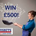 Win £500 worth of vouchers to spend with us! Visit our prize draw page here: http://bit.ly/18nu3Cd and take our quick culinary quiz to enter. We'll even give you a unique voucher code worth £5 off your next online purchase just for entering!
