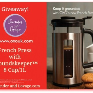 Giveaway: Win a French Press with Groundskeeper™ 8 Cup/1L with OXO