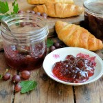 An Old Cottage Garden and Pink Gooseberry & Elderflower Jam Recipe