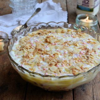 Celebration Raspberry and Almond Trifle