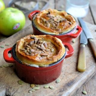 Pork Sausage, Leek & Apple Pies
