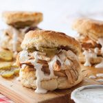 Slow Cooker Barbecue Chicken with Biscuits