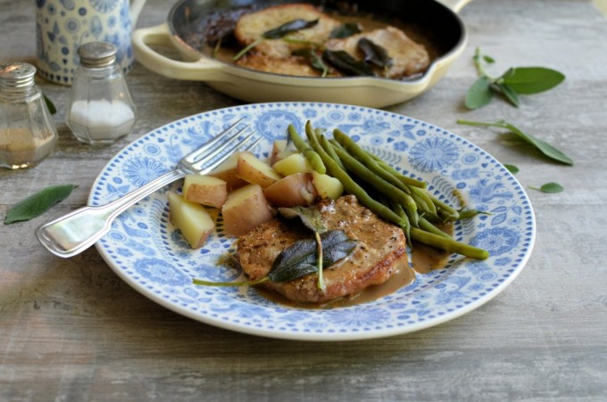 Pork Medallions in a Brown Butter and Sage Sauce