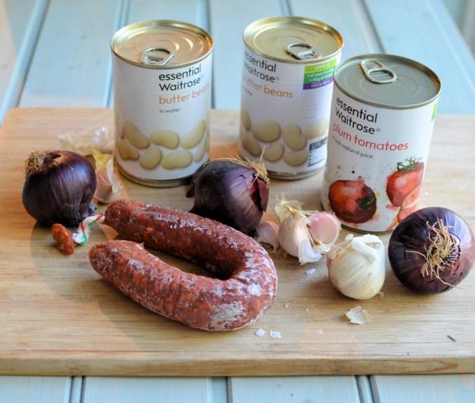 Smoky Chorizo and Butterbean Hot Po