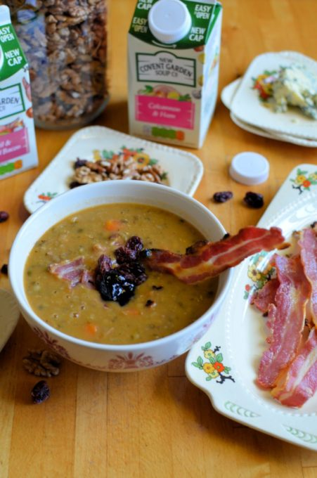 Lentil and Bacon Soup