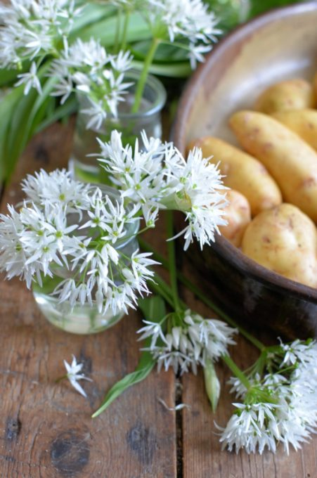 Wild Garlic Potatoes