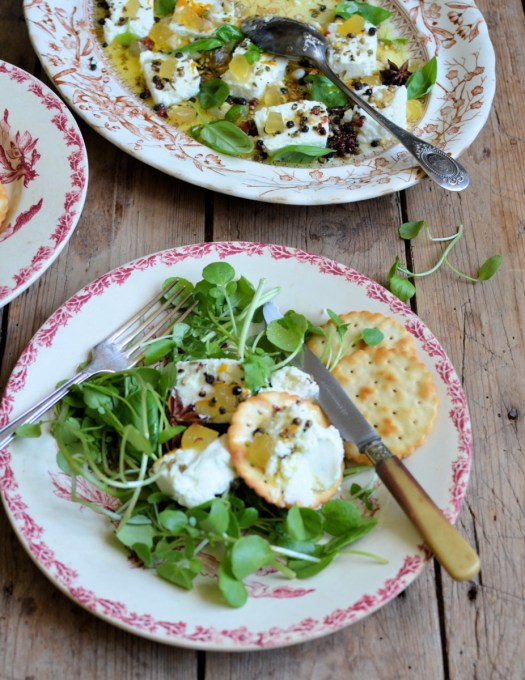 Goats Cheese and Stem Ginger
