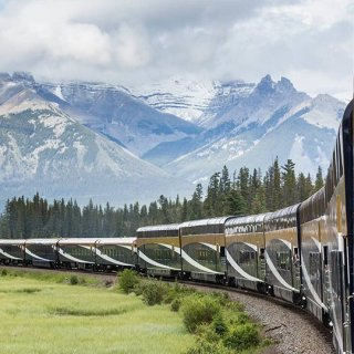 Journey through the Clouds on Rocky Mountaineer