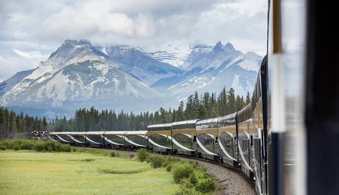 Rocky Mountaineer Journey through the Clouds
