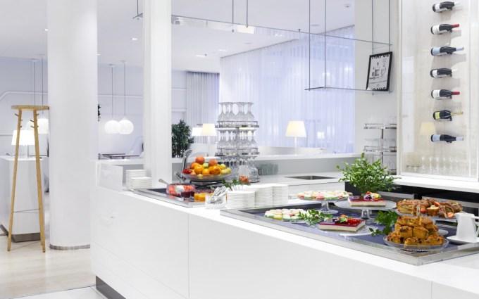 Finnair Premium Lounge Food