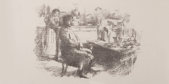The Shoemaker by Whistler