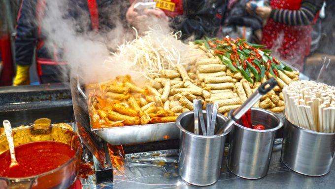 Asian Market Food