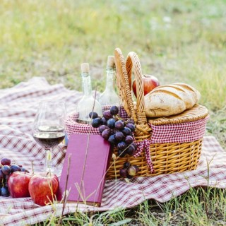 Old Roses, Summer Berries & a Teddy Bear's Picnic