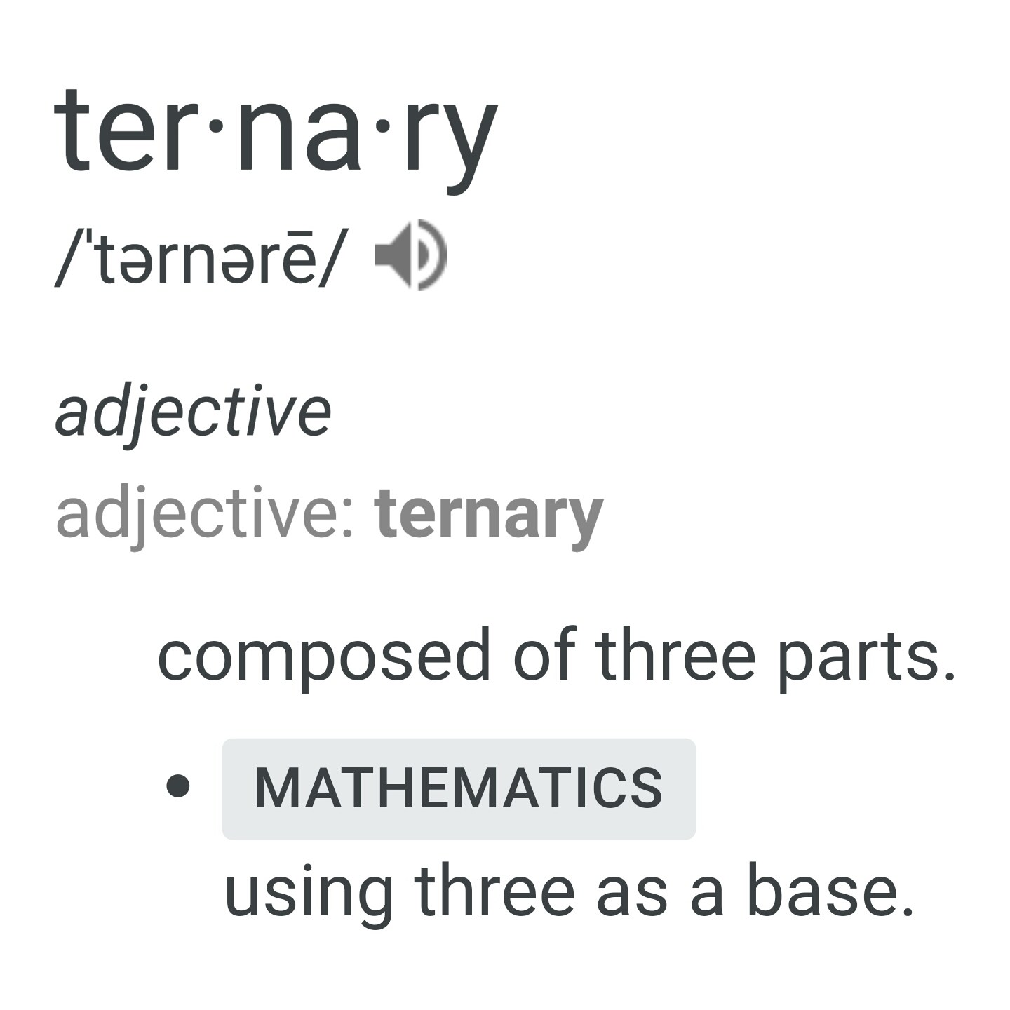 Gender Isn't Ternary Either