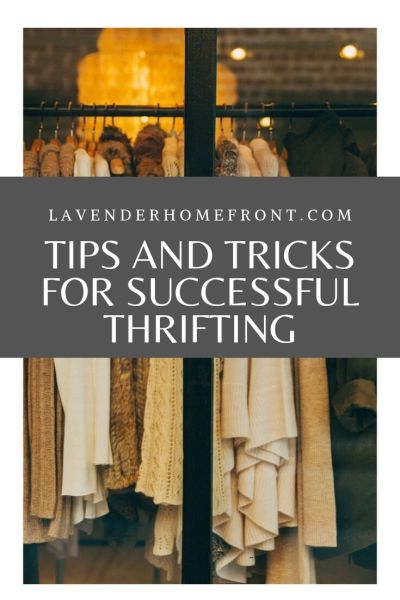 how to find the best stuff at thrift stores