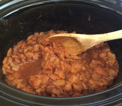 Cooked Apples Apple Butter