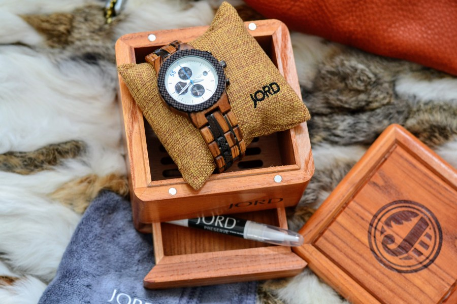 The JORD Conway Men's Watch - sustainable, eco-friendly and gorgeous
