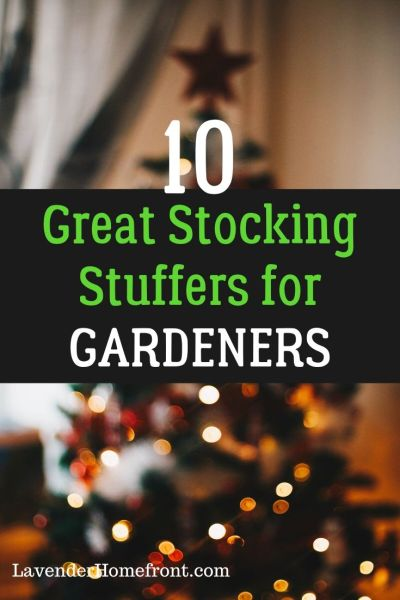 stocking stuffers for gardening during the holiday season