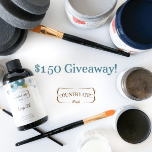 chalk paint free giveaway country chic