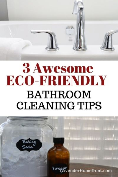 three easy non-toxic tips to getting your bathroom clean