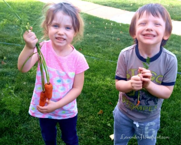 allow children to garden outside for amazing benefits