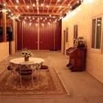 Wedding venue at lavender farm