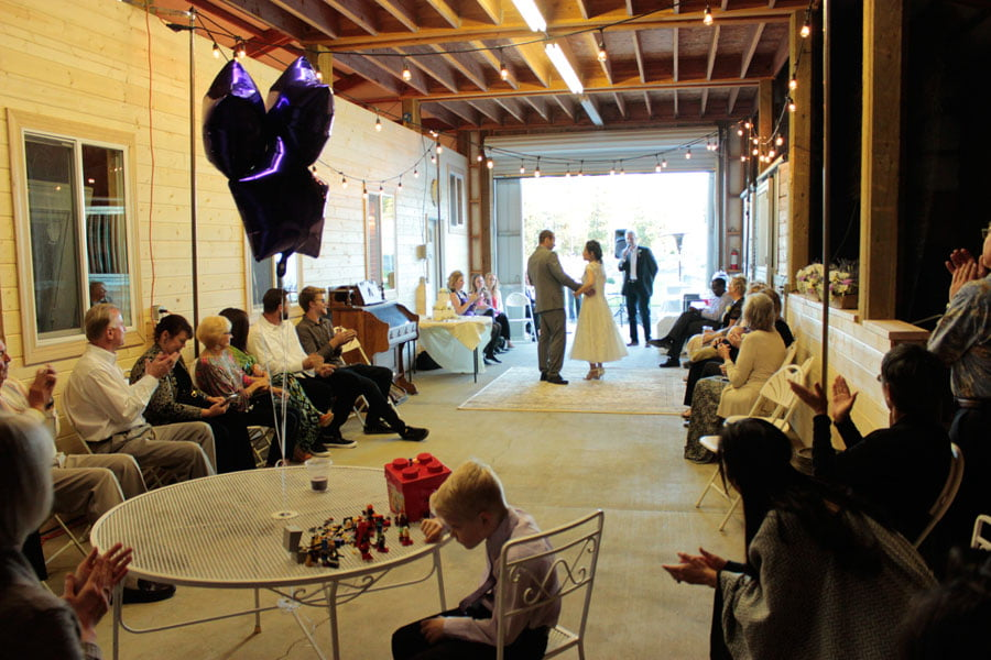 Guests Witnessing First Dance