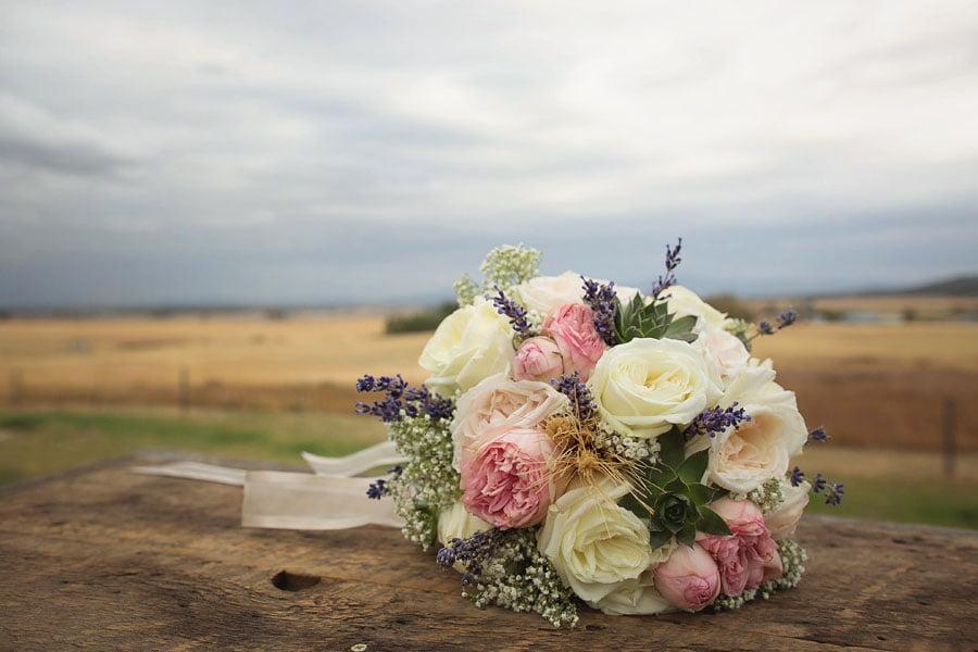 Bouquet Overlooking Wildrose Prarie