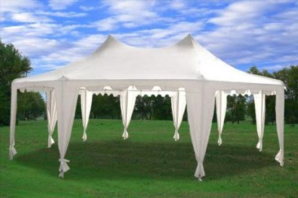 Lounge Tent (no sides) - 29' x 21'